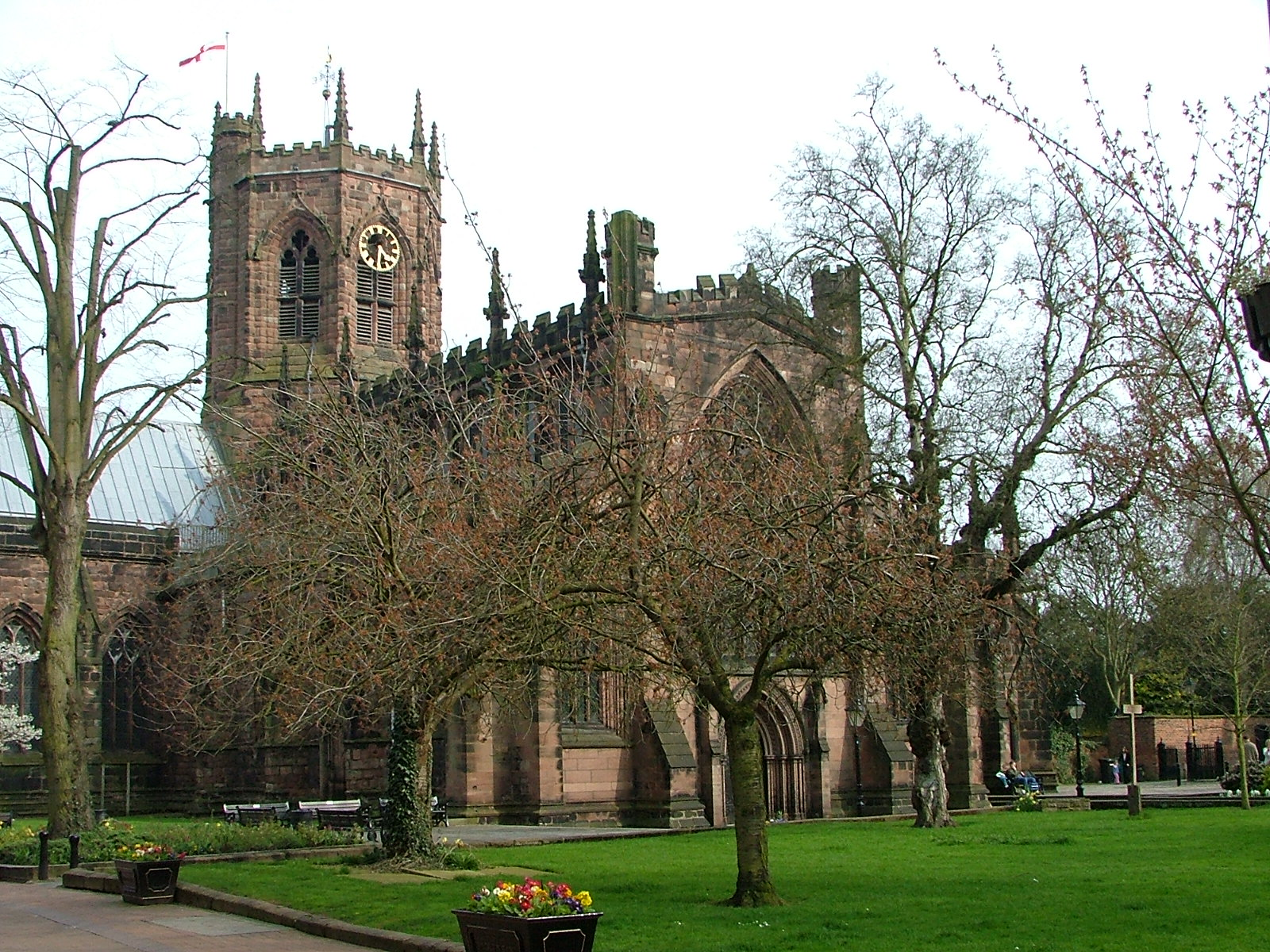The Parish Church of St. Mary Nantwich 1 - Our Funders